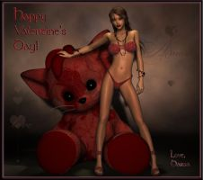 Happy VAMPentine's Day by macarthurfamily