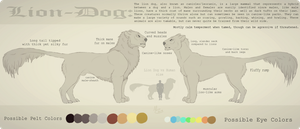 Lion Dog Species Sheet | Open Species by Fainalotea