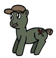 Soos as a pony by Closer-To-The-Sun