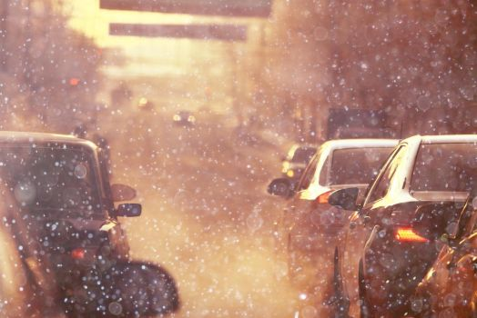 Cars on the road snow 10 by bouzid27