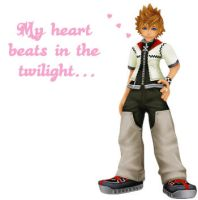 Kingdom Hearts: Luv Roxas by ricespamjammin