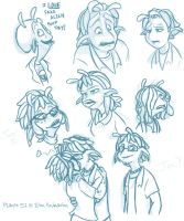 Planet 51 Doodles by In-Tays-Head