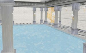 MMD Fancy indoor pool by amiamy111