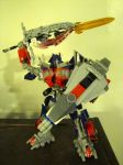 Optimus Prime: Sword and Shield by Saberrex