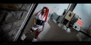 Cybergoth Nurse Costume 03 by Bastetsama-Cosplay