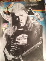 David Gilmour by ThunderSpartan149