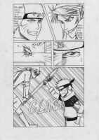 Naruto vs. Link Doujinshi p.2 by FreezingStudio