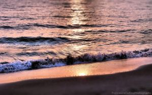 Sunset on the beach 9 by FrancescaDelfino