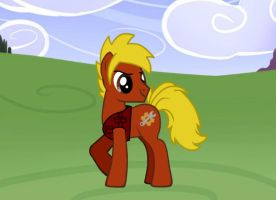 My OC pony: Gears by TW6464
