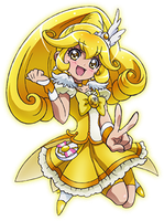 Cure Peace Movie Pose by frogstreet13