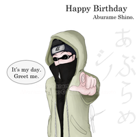 + Happy Bday Shino + by Lijachan