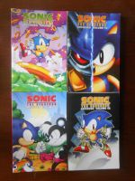 Sonic Archives Volumes 9-12 by BoomSonic514