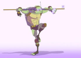 TMNT: Donnie by CheungKinMen