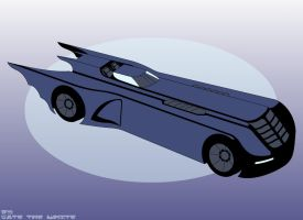 The Batmobile by Gate-the-white
