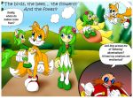 Tails Cosmo and child... by Bizmarck