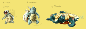 7-9 Turtles by PokePsych