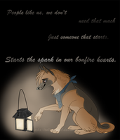 -The spark in our Bonfire Hearts- by Saske-Italian-Wolf