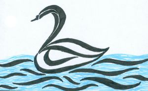 Another Swan by Wolffe-Soulspirit