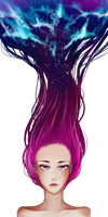Galaxy hair by tea-of-love