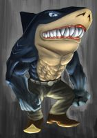 Street sharks - Ripster by Elrad-o
