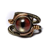 Steampunk Jewelry Shark Ring by CatherinetteRings