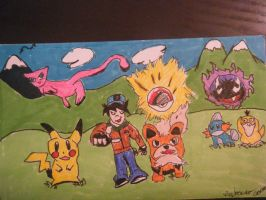 Pokemon by andrew-comer