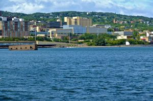 Duluth Harbor by WestSideofMidnight
