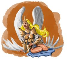 After Death Angel by Xanditz