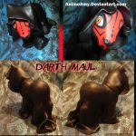 Darth Maul Pony by AnimeAmy