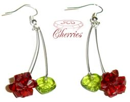 Swarovski Cherries by SweetCandyDreams