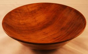 wooden dish made from bubinga by U140