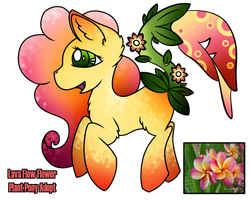 MLP Adopt: Lava Flow: Plant Pony [CLOSED] by Mychelle