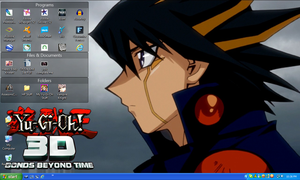 Yusei 10th 2013 DeskWall by PharaohAtisLioness