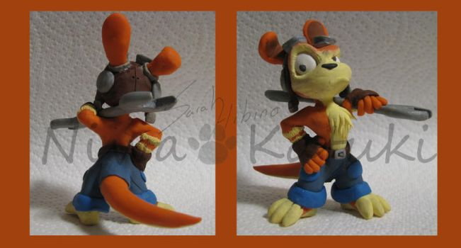 Daxter_front and back view by Niwa-Katuki