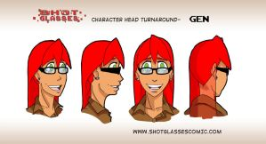 Head turnaround Gen by TheKad