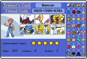 My brother's trainer card by Mecca12