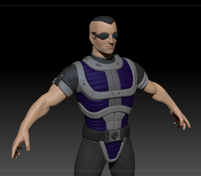 Soldier model [WIP] by Dalus