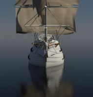Sailing ship WIP 4 by forgedOrder