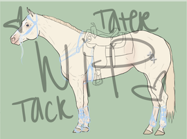 WiP Tater's Tack by painted-cowgirl