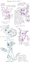 The Neverending Doodles: Possible Future OCs by VibrantEchoes