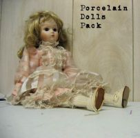 Porcelain Dolls by stockinthecorridors