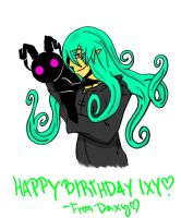 Happy Birthday Ixbran by DeathDragon13