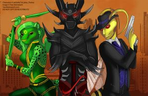 [Commission] The Trio of Badassery by Ulario