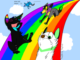 THE FURRY RAINBOW by axelagaraykacopocky