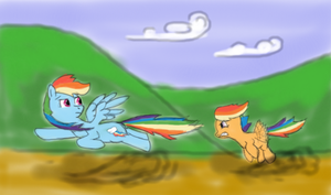Chase the Rainbow by Paucity-Luxuriance