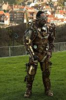 Steampunk Overlord Gear by Skinz-N-Hydez