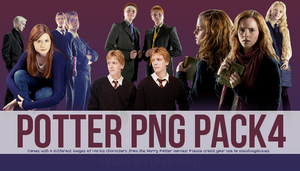 Potter PNG Pack4 by smashingdaisies
