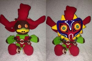 Skull Kid - Now with mask! by Jessacre93