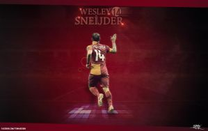 Wesley Sneijder by tenha