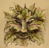 Green Man by Tiger-tyger